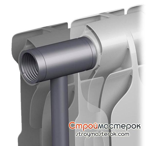 Секционные радиаторы из биметалла