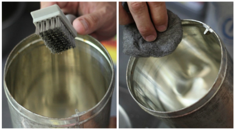 Удаление ржавчины с металла