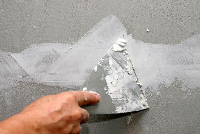 Гипсоцементная шпаклевка для стен
