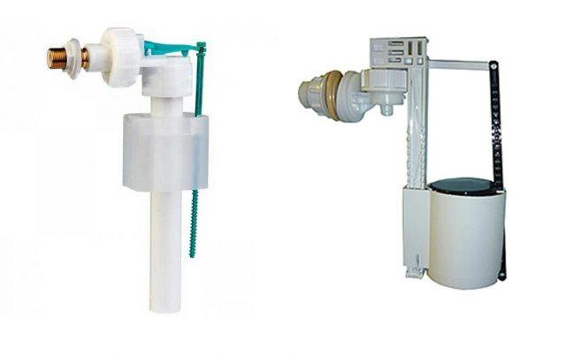 поплавковый клапан для унитаза