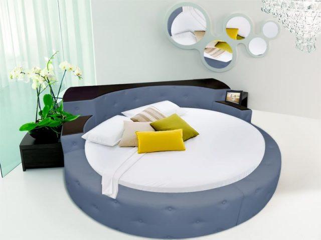 Подходящие аксессуары к круглой кровати