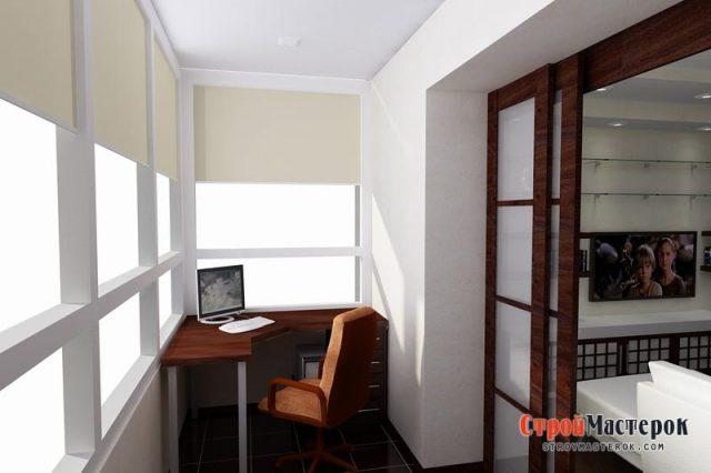 Вариации на тему отделки балконов