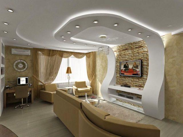 Подвесной потолок преимущества
