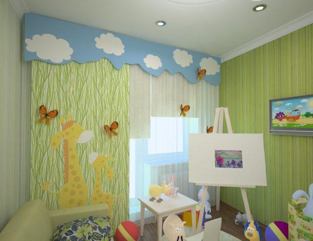Жалюзи в детскую комнату