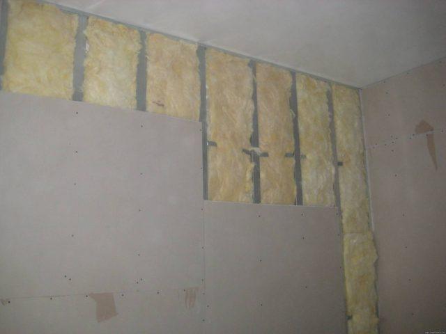 Выравнивание стен гипсокартонном