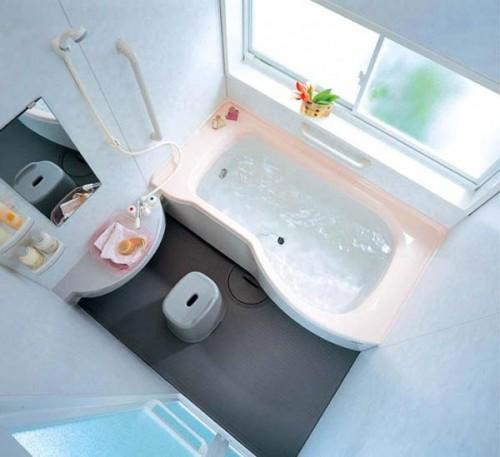дизайн для маленькой ванной