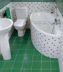 маленькая ванна дизайн