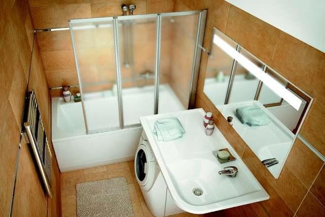 ванные комнаты маленькие