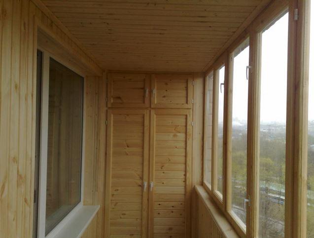 деревянное остекление