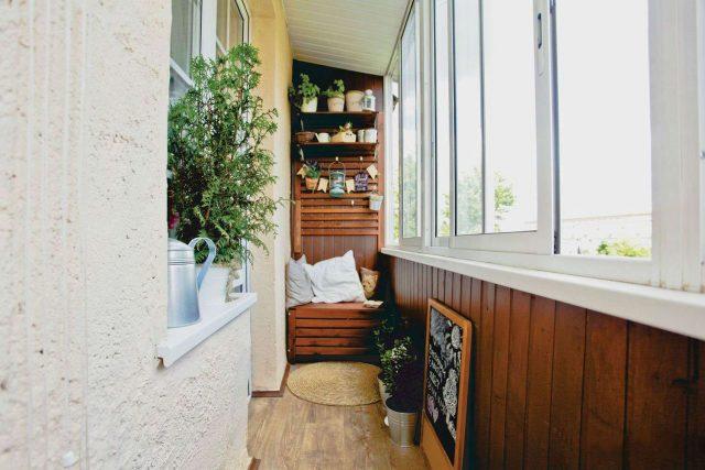 оформление балконов в квартирах