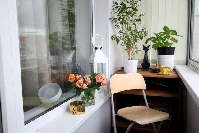 оформление лоджий и балконов