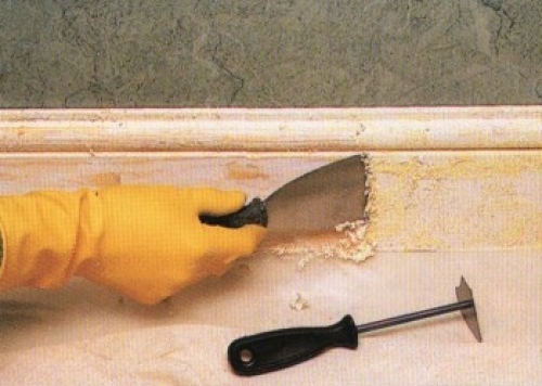 Как снять старую краску