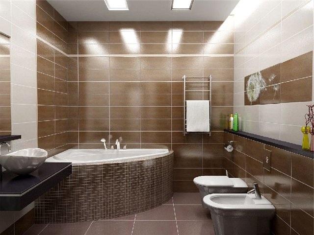 Ремонт стен в ванной комнате