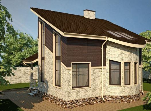 крыши домов разновидности