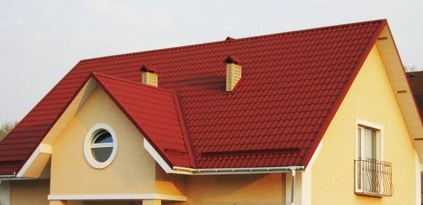 виды крыш частных домов фото