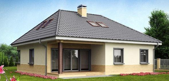 фото крыш частных домов