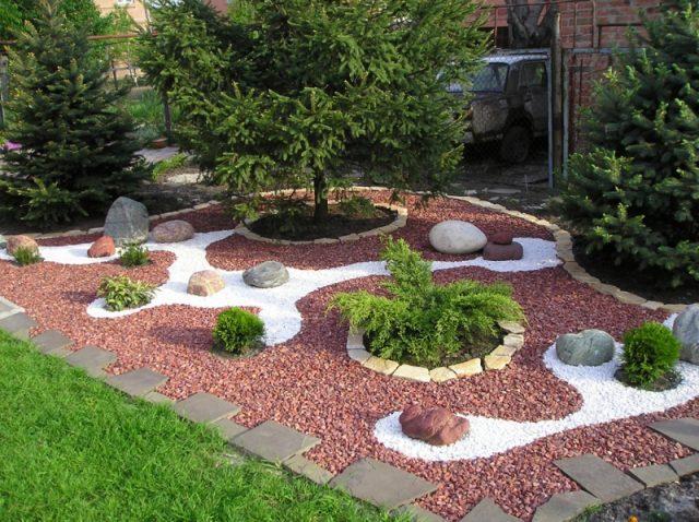 современный ландшафт сада своими руками
