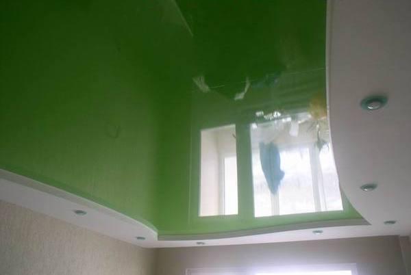 цвет натяжного потолка