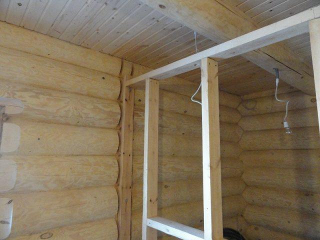 межкомнатные перегородки в деревянном доме своими руками