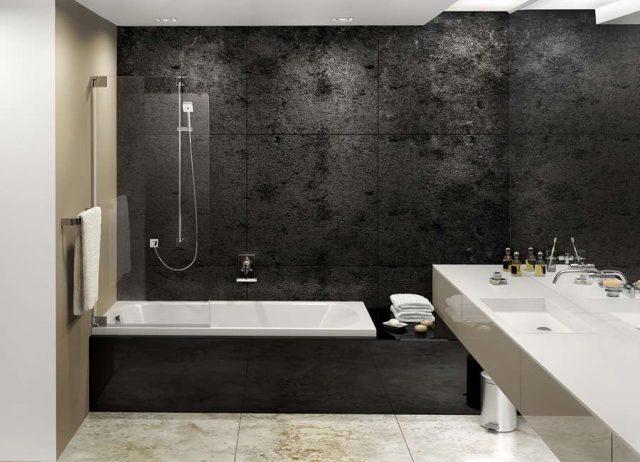 ванна черная фото