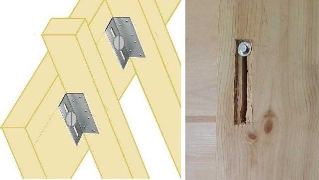 из чего сделать перегородки в деревянном доме