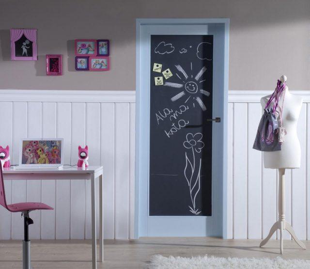 рисунок на двери