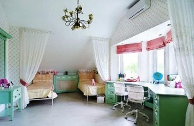 Дизайн детской комнаты для двух дочек