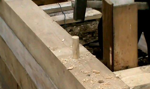 технология строительства бани из бруса своими руками