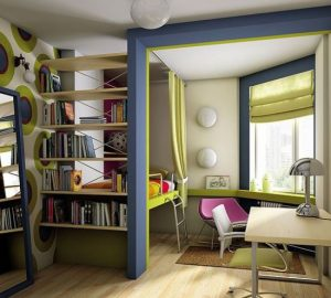 как разделить комнату на две зоны