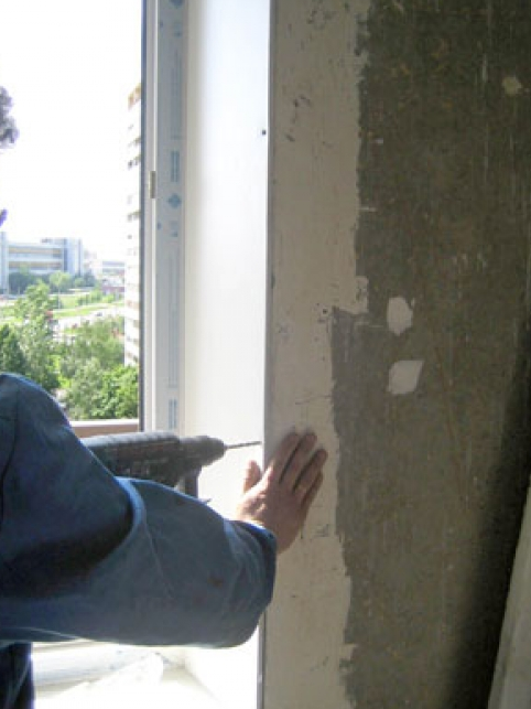 как слеоать откосы на окнах своими руками