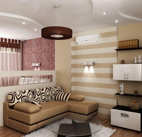 Как разделить комнату на две части