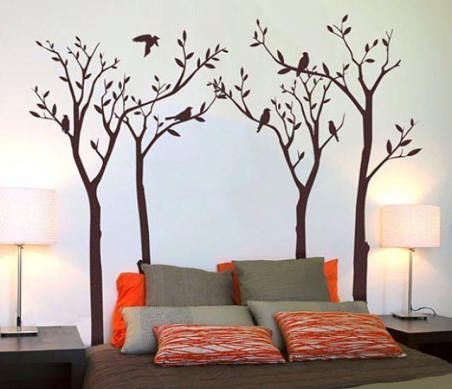 сделать рисунок на стене