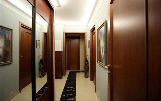 отделка узкого коридора