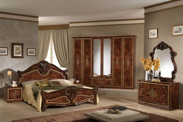 итальянский интерьер спальни