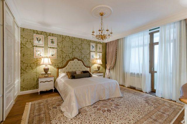 Итальянский стиль в спальне