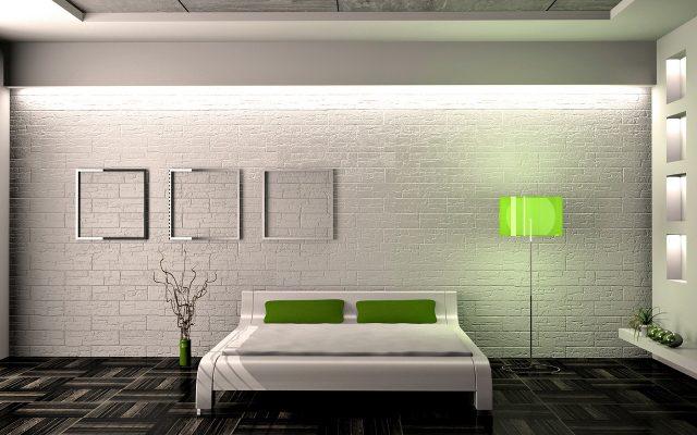 минимализм спальни