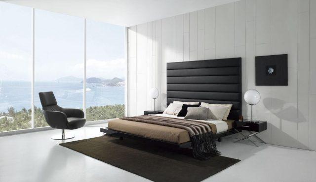 мебель в спальню стиля минимализм