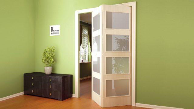 Складные раздвижные двери