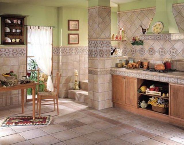 Керамическая плитка для кухни