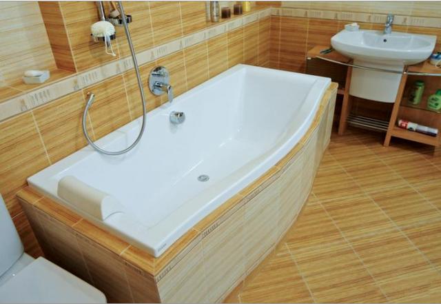 Встраиваемая акриловая ванна