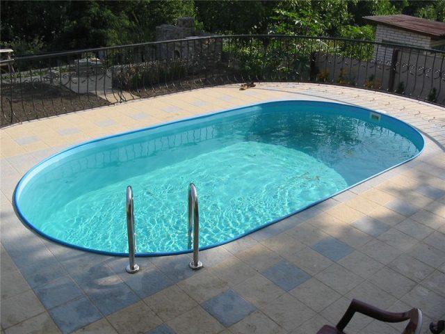 Открытый тип бассейна