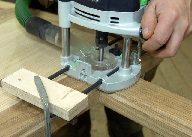Вентиляционный клапан для деревянных окон - фрезировка оствертия