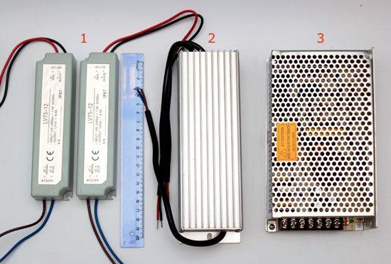 Рассчитать какой нужен блок питания для led ленты smd.