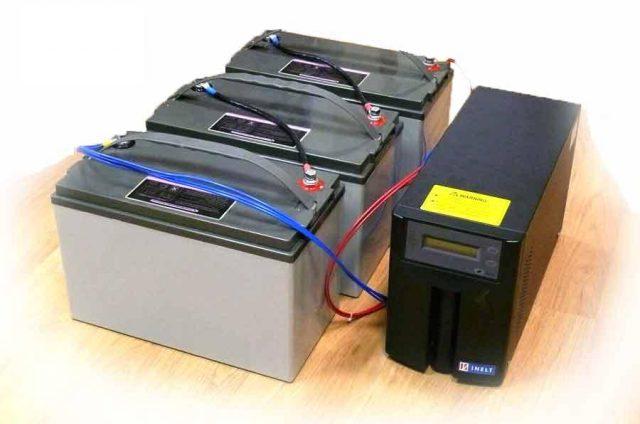 ИБП с внешними аккумуляторами