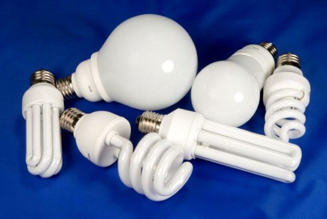 энергосберегающей лампы