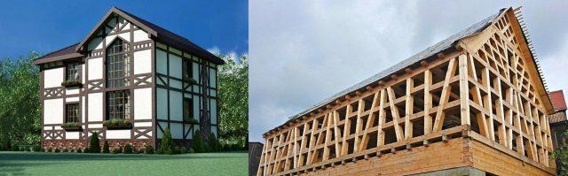 каркасные дома по скандинавской технологии