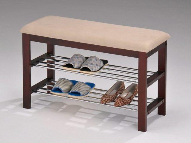 Скамейка в прихожую: практичный и привлекательный вариант