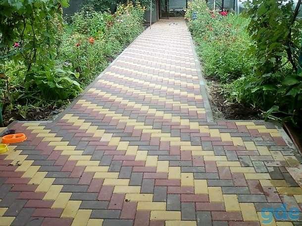 Практичность укладки тротуарной плитки от профессионалов