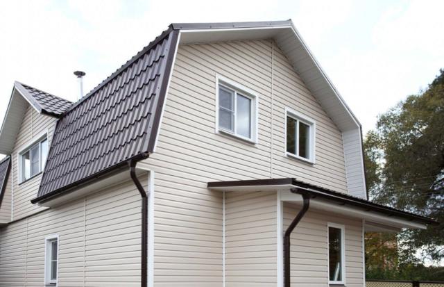 Сайдинг – стильный и практичный материал для отделки фасада