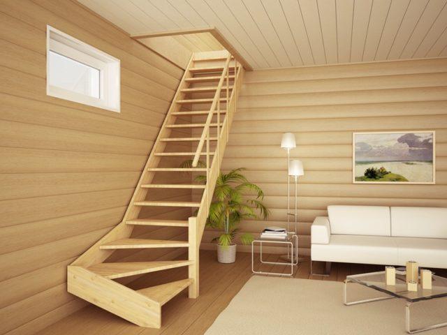 Как выбрать готовую деревянную лестницу